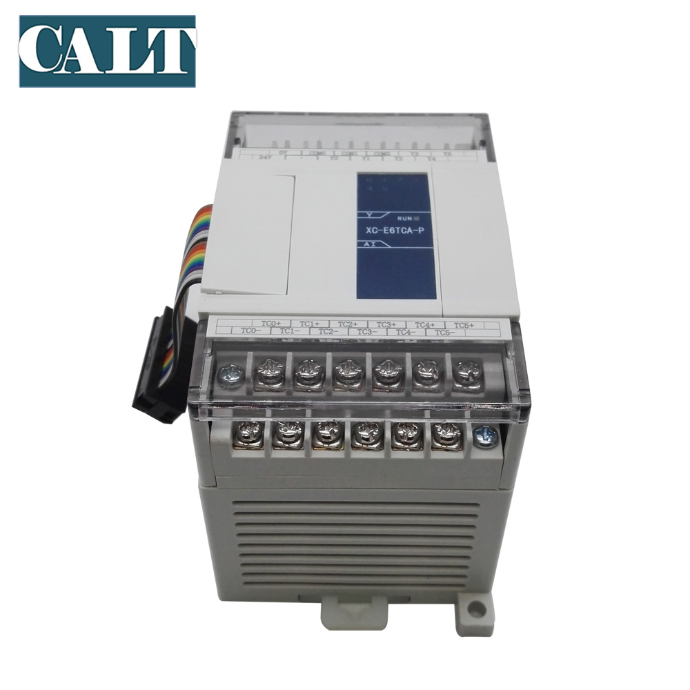 XINJE XC E6TCA P 6 channels Thermocouple temperature control module of XC series PLC Extension Module