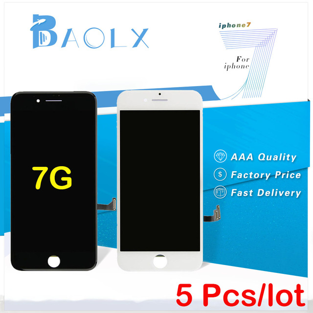 f1276ed39f3 5Pcs/lot Grade AAA for iPhone 7 Lcd display screen Replacement Highscreen  Touch Screen Digitizer
