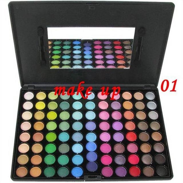Best X-mas ladies gift eyeshadow palette Metal Mania 88 colors eyeshadow makeup free shipping