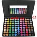 Mejores damas x-mas regalo Metal Mania paleta de sombra de ojos 88 colores de sombra de ojos maquillaje envío gratis
