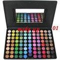 Melhor X-x-mas presente senhoras de Metal Mania 88 cores da paleta da sombra da sombra de maquiagem frete grátis