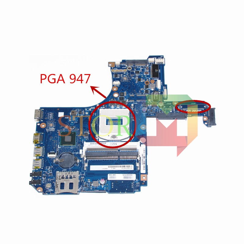 NOKOTION for toshiba satellite S55T laptop motherboard H000067070 hm86 GMA HD4400 DDR3L nokotion laptop motherboard for toshiba satellite a300 a300d v000125610 intel gm965 integrated gma 4500mhd ddr2