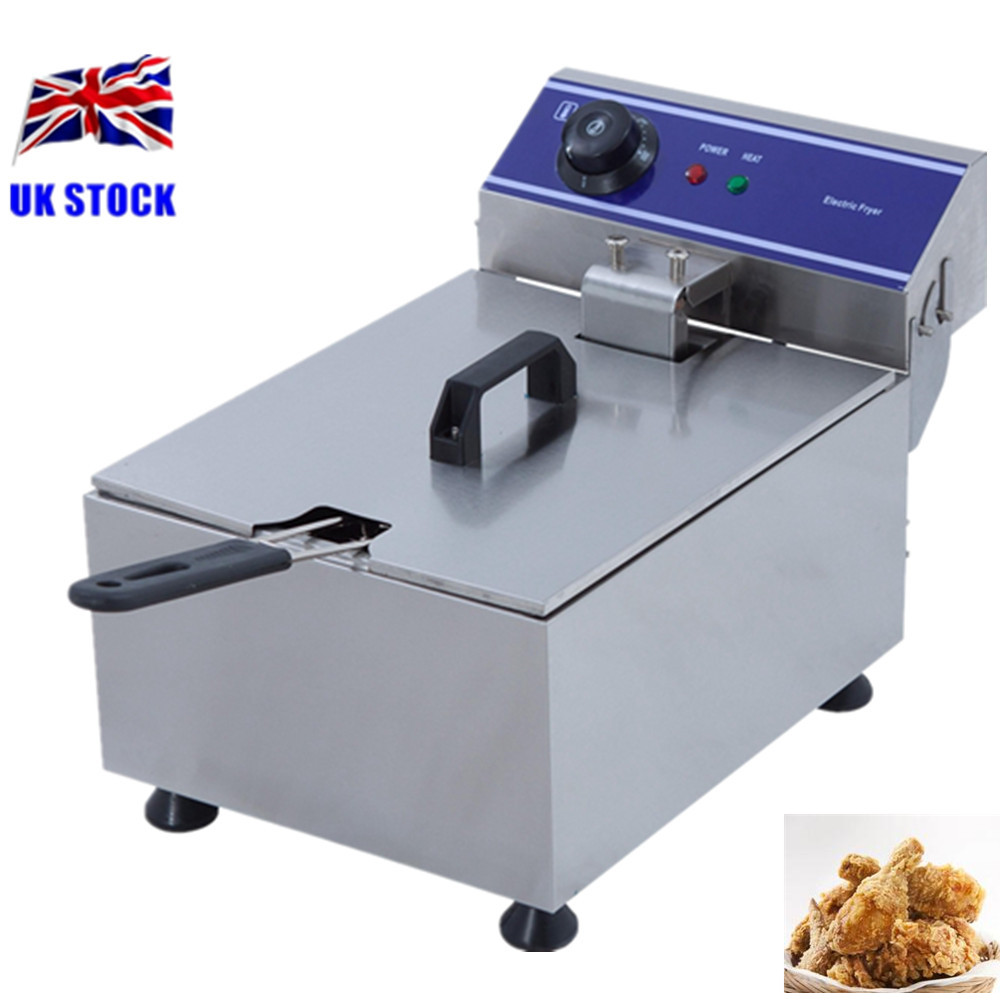 Home Use Electric Deep Fryers Pot Food Oven Fried Chicken Fryer Small Pressure Fryer Chicken French Fries homeleader 7 in 1 multi use pressure cooker stainless instant pressure led pot digital electric multicooker slow rice soup fogao