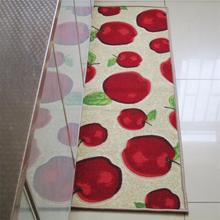 40x60+40x120CM/Set Red Apple Kitchen Mat Modern Nylon Kitchen Carpet  Balcony/Wardrobe Area Rug Children Bedroom Rugs/Floor Mat