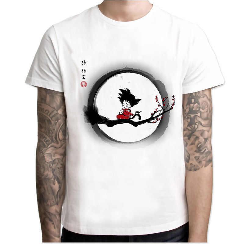 Новейшая футболка с драконами и шариками супер сайян Dragon Ball Z Dbz Son футболка «Goku» чехол Capsule corp футболка vegeta мужские топы для мальчиков