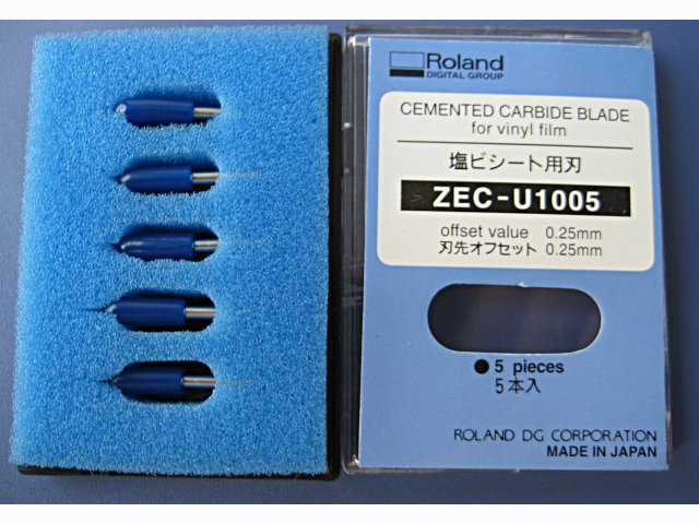 5pcs 45 degree blades For Roland Plotter Cutting blades ZEC-U1005 roland standard cutting blade zec u1005 for printer