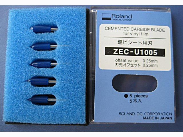 5шт 45-ступеневі леза для ролландських плоттерів для різання леза ZEC-U1005