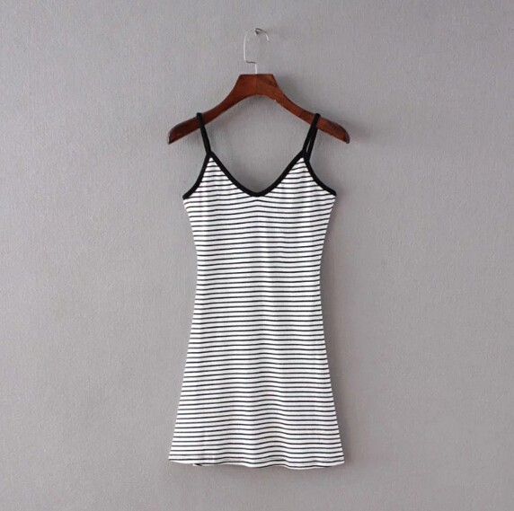 HTB1M.VlMpXXXXcyaXXXq6xXFXXX1 - FREE SHIPING Sexy Backless Cross Strappy Halter Striped Dresses JKP278