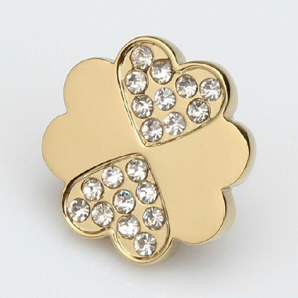 32mm glass crystal drawer knob pull Bright gold kitchen cabinet handle knob diamond dresser cupboard  furniture knob pulls