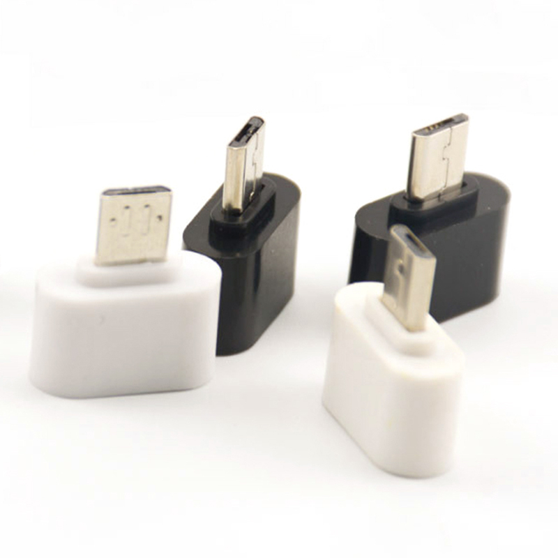 2pcs New Style Mini OTG Cable USB OTG Adapter Micro USB To USB Converter For Tablet PC Android