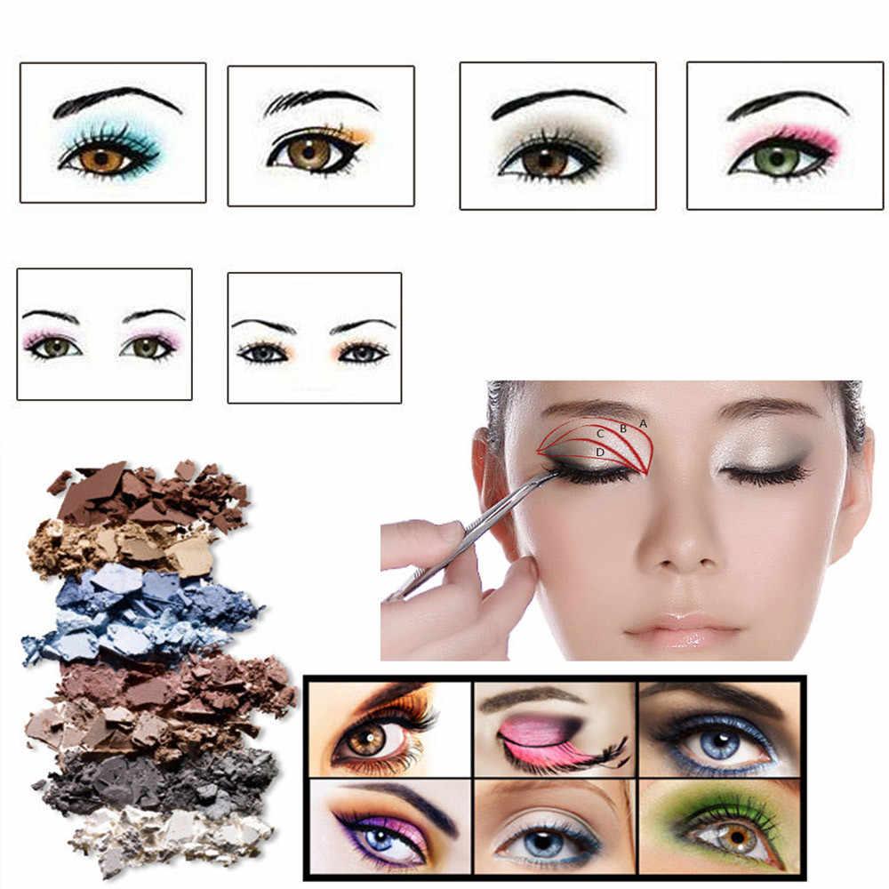 MISS ROSE ombre à paupières multicolore 24 couleurs Pro cosmétique fard à paupières Palettes défaut réparation beauté longue durée maquillage plaque 19L0531
