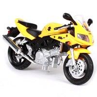 Maisto 1:18スズキsv650sオートバイバイク