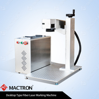 30w Fiber Laser Marking 175x175mm working area , Raycus Fiber Marking Machine Price