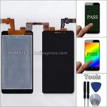 Nueva Pantalla de Panel Táctil de Cristal Digitalizador + LCD de Pantalla Para DNS S4503 S4503Q Innos i6 i6c