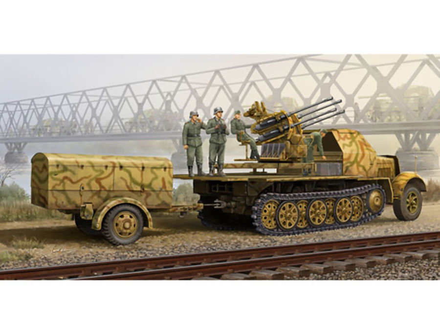1pcs Action Figures Toy Kids Gift Collection For Trumpeter 01524 1/35 Flakvierling 38 Sd.Kfz.7/1 Late 1pcs action figures toy kids gift collection for trumpeter 01524 1 35 flakvierling 38 sd kfz 7 1 late