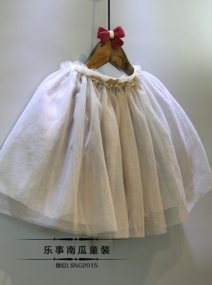 2016 New Girl Skirt Summer Sweet Veil Material Tutu Skirt With Good Quality  (6)