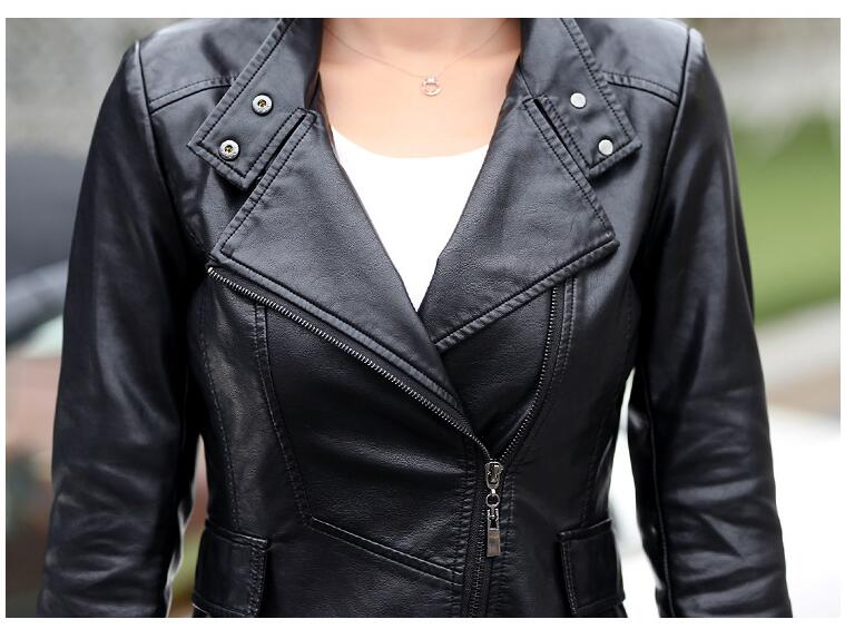 Très Noir Près Manteaux Noir Taille Long Cuir Femmes Qualité Vestes Coupe Corps Europe M Green army Et 2017 5xl Bonne Amérique En Plus Du Manteau Style rUnqgrxw