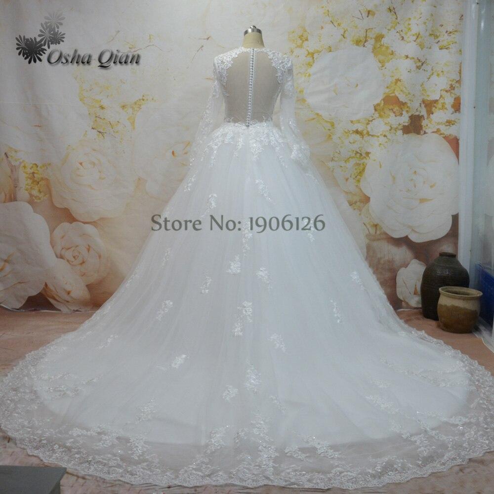 Online Shop China Off White Wedding Dresses Turkey Mordern Bridal ...