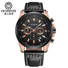 Men's Quartz Wrist Watch Business Top Brand Luxury Men Calendar Watches Fashion Leather Strap Male Wristwatch Horloges Mannen цена 2017