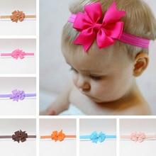 Тюрбан для держатели головных уборов для девочек бантик повязка на голову, повязка на голову, для младенцев, для новорожденных, детей ясельного возраста подарок, тиара для волос, аксессуары для одежды