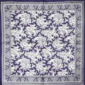 100% Silk Scarf Women Scarf Paisley Neckerchief Silk Bandana Foulard 2017 Flower Female Small Square Silk Scarf  Gift for Lady