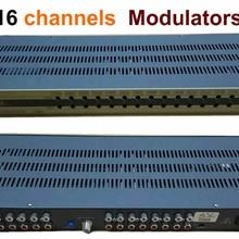 16 каналов CATV отдельная частота CATV модулятор для отеля/школы/общежития Верхнее количество