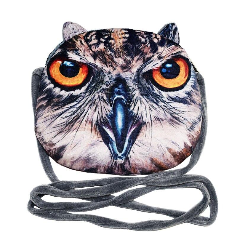 2018 Nouveau 3D Animal Enfant Composite Sac Enfants Messenger Sac Avec Porte-Monnaie Enfants Bandoulière Téléphone Stockage Épaule Sacs Cadeau