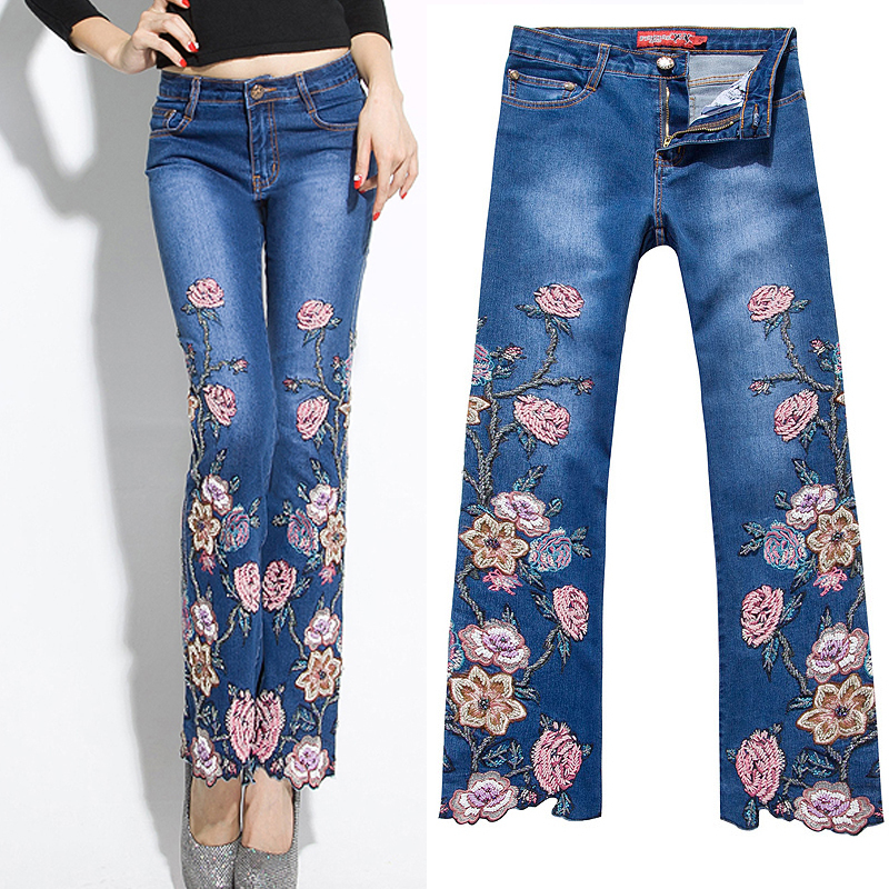 Popular jeans embroidery pocket design buy cheap