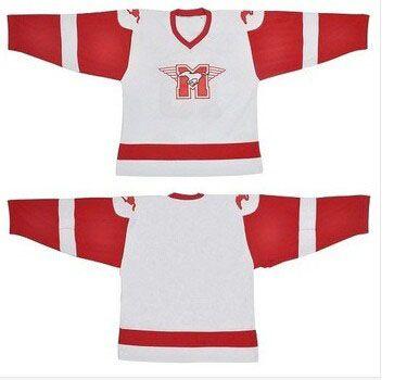 Hockey Jersey Men Custom Blank Movie Throwback Hockey Jersey 100% Stitched  Ice Hockey Jersey S-3XL Free Shipping Viva Villa 5c7b7f8cc50