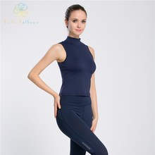 Hello Anthena Womens Performance Solid Color Tank Top All In One Padded Bra Slim Fit Sleeveless
