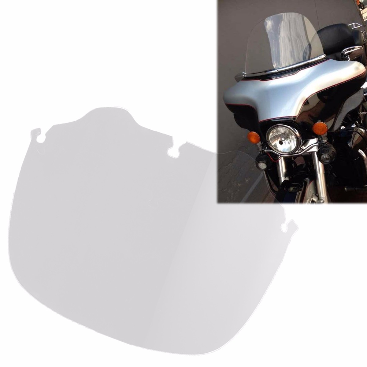 где купить 13 Inch Motorcycle windshield Windscherm Windscreen for Harley Touring Street Glide Electra Ultra Classic 1996-2013 дешево