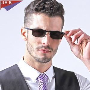 Image 1 - جديد الرجال النساء سبائك التيتانيوم فوتوكروميك نظارات للقراءة ل المضادة للخدش طلاء نظارات ديوبترا 25 إلى 6.00