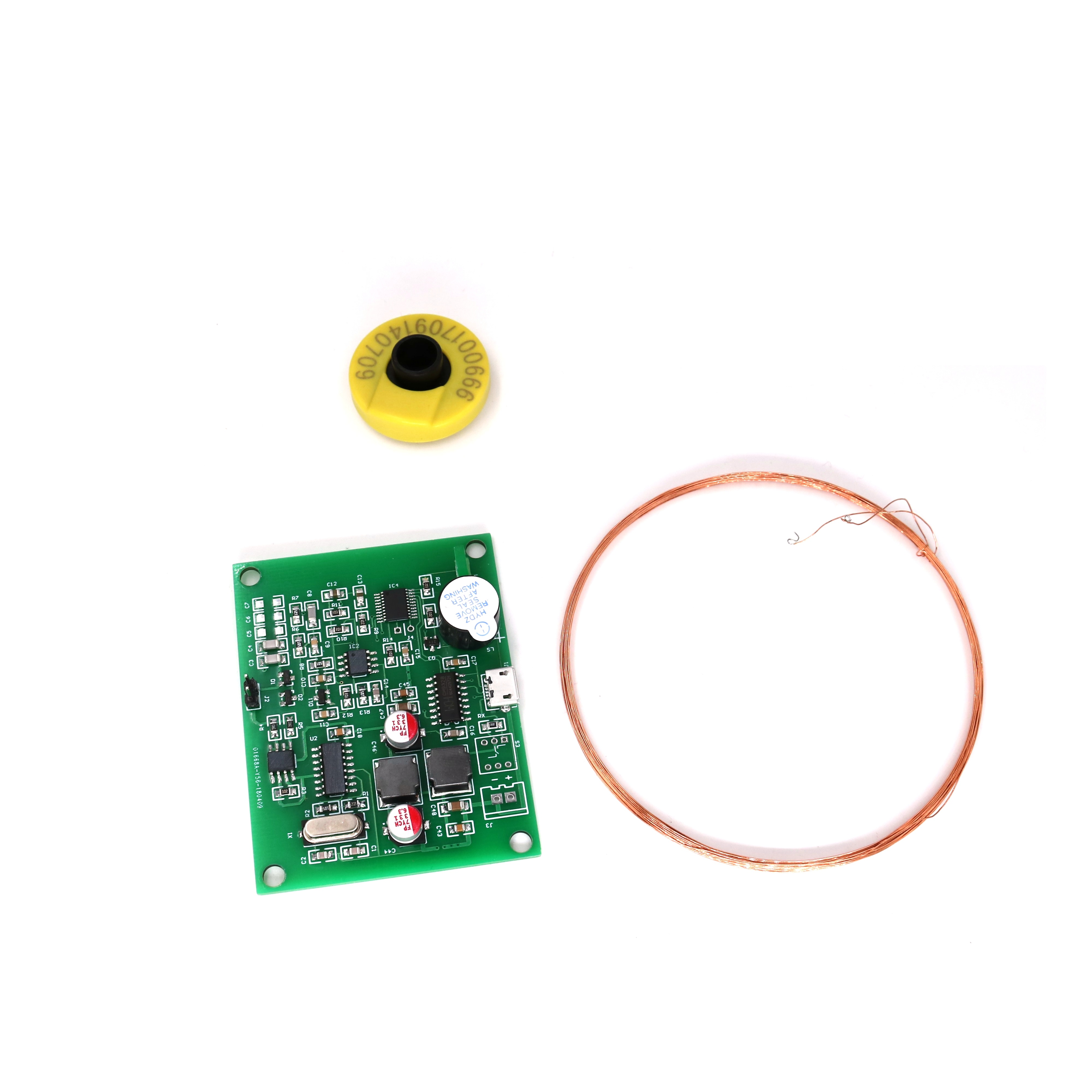 ISO11785/84 FDX-B Pet RFID Chip Reader Animal Ear Tag Reader Module Scanner None Driver  Plug And Play