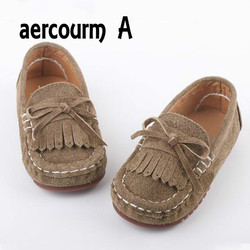 Aercourm a 2017 kids boys girls genuine leather shoes single soft baby sneakers children casual boat.jpg 250x250