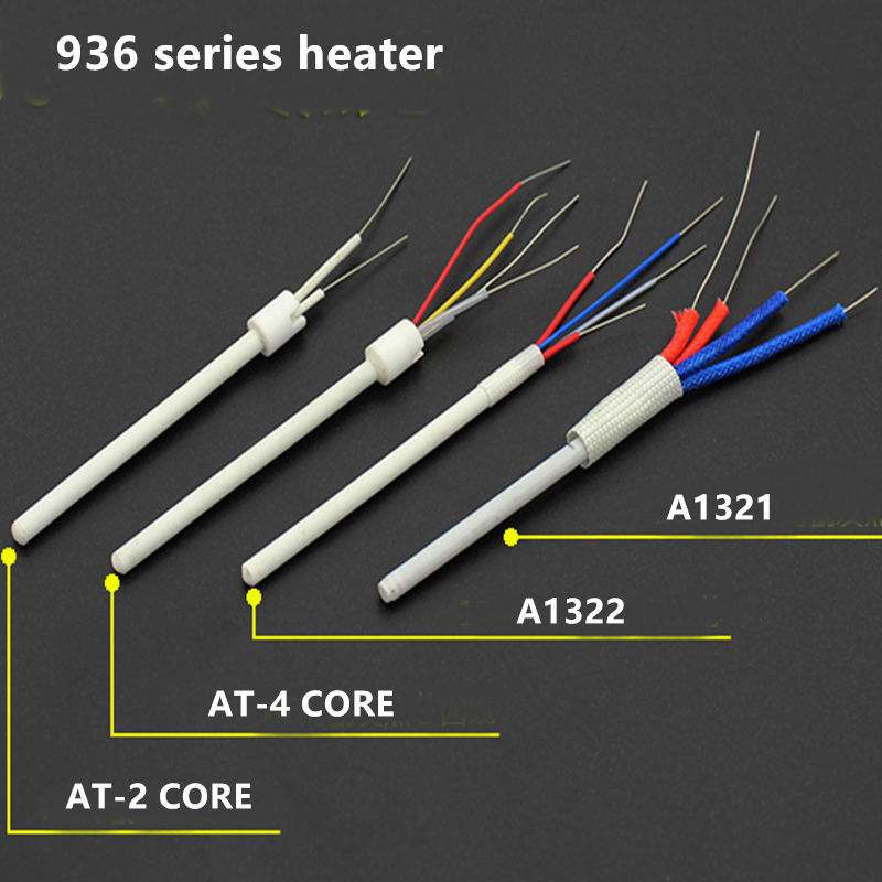 24V 1322 1321 936b 936B Soldering Iron Ceramic Heater Core Adapter Heating Element For Solder Iron Station For 936 937
