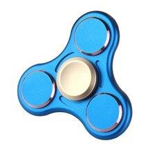 Палец Spinner Для аутизма Взрослый Анти снять стресс игрушки 6 цветов Непоседа Spinner Металлический spiner