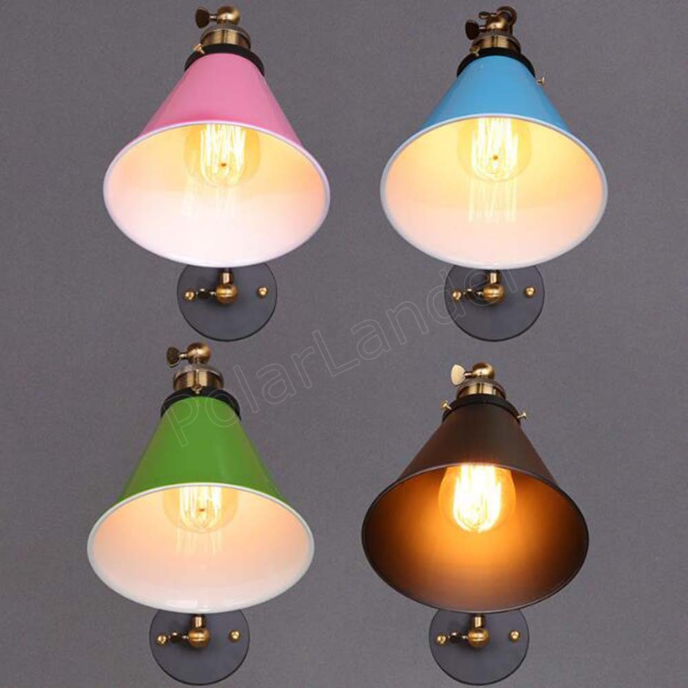 2 Colors Available Balloon Wall Lamps Bedside Lights Acrylic Shade Restaurant Has No