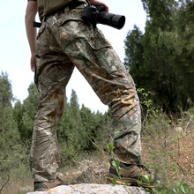 Men's Camouflage Hunting Men Pants Large Size Pants Female Outdoor Cotton Camo Fishing Hunting Trousers Hiking Pants 120cm Waist цены онлайн