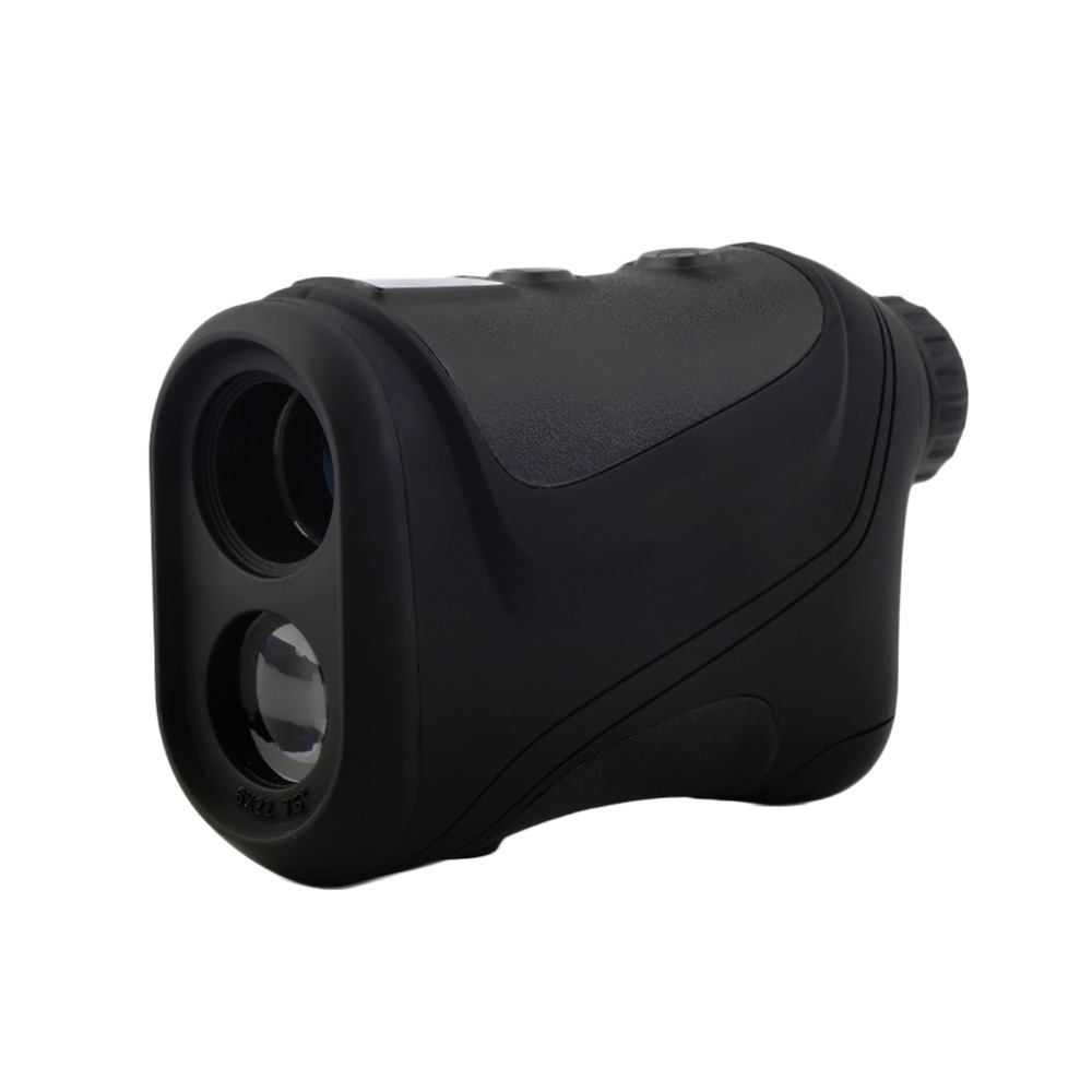 Hot 6x22mm Multifunction Laser Range Finder Telescope 600m Hunting Golf Distance