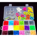 5MM Perler Beads Children 18 Colors Creative DIY 4500Pcs Tangram Jigsaw Board Hama Beads Puzzle Toys Set With Accessories Gift