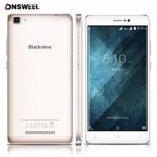 Blackview A8 Max téléphone portable Android 6.0 5.5 pouce HD IPS MT6737 Quad Core 64bit 4G Mobile Téléphone 2 GB + 16 GB 8MP 3000 mAh smartphone