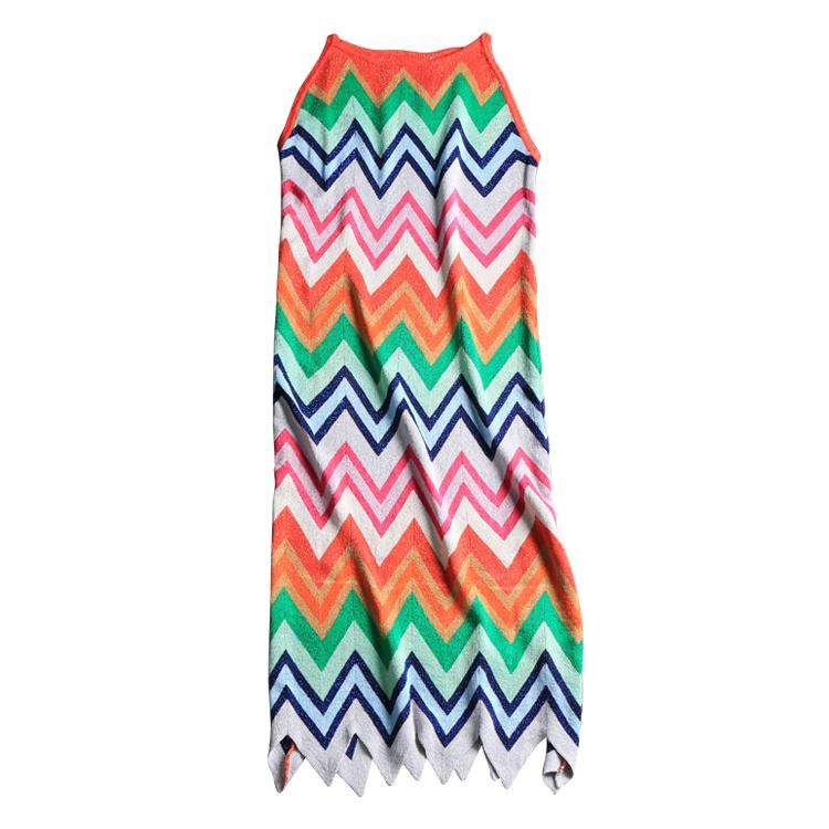 DORLA IOW Natural デザイナー女性ノースリーブパーティードレスビーチファッション 6