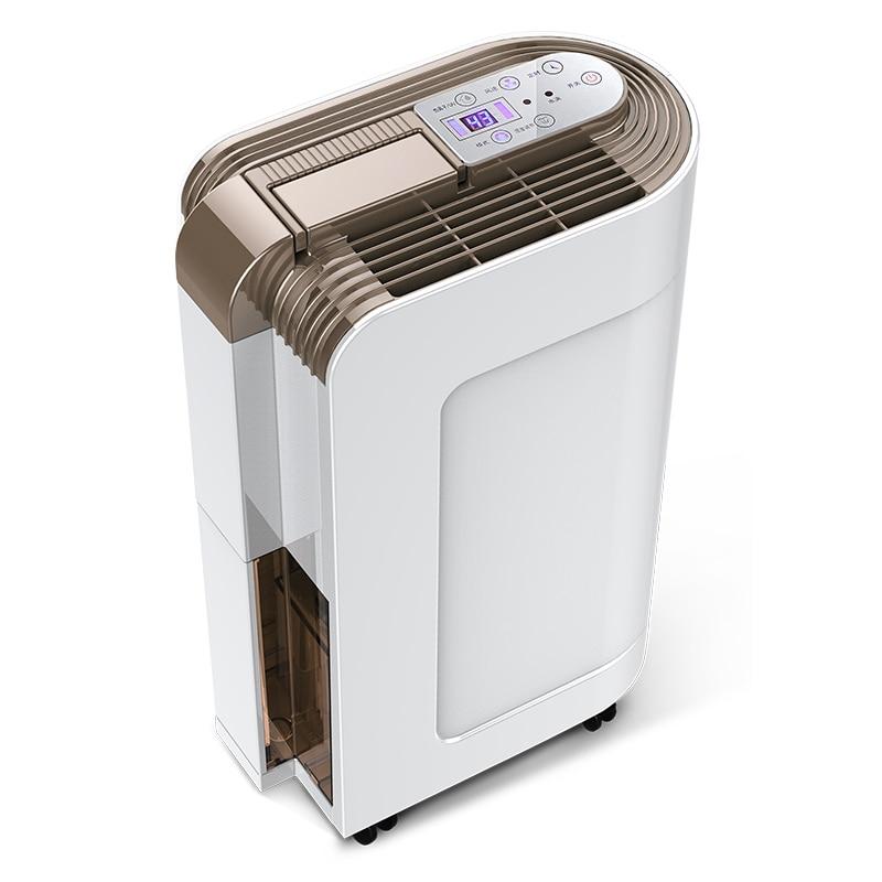 Déshumidificateur d'air de dessiccateur d'air silencieux électrique de déshumidificateur pour le déshumidificateur de bureau à la maison OJ 163E|Déshumidificateurs| |  -