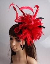 High quality sinamay Elegant ladies hair fascinators