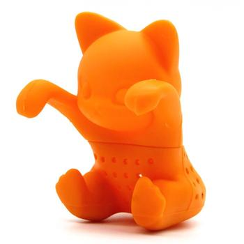 Silicone Cat Tea Infuser Tea Filter 1
