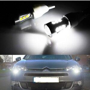Image 5 - Gtinthebox שגיאת משלוח led drl אור Hp24w 3030SMD 12V g4 led בשעות היום ריצת אורות הנורה מנורת עבור סיטרואן c5 ו 3008
