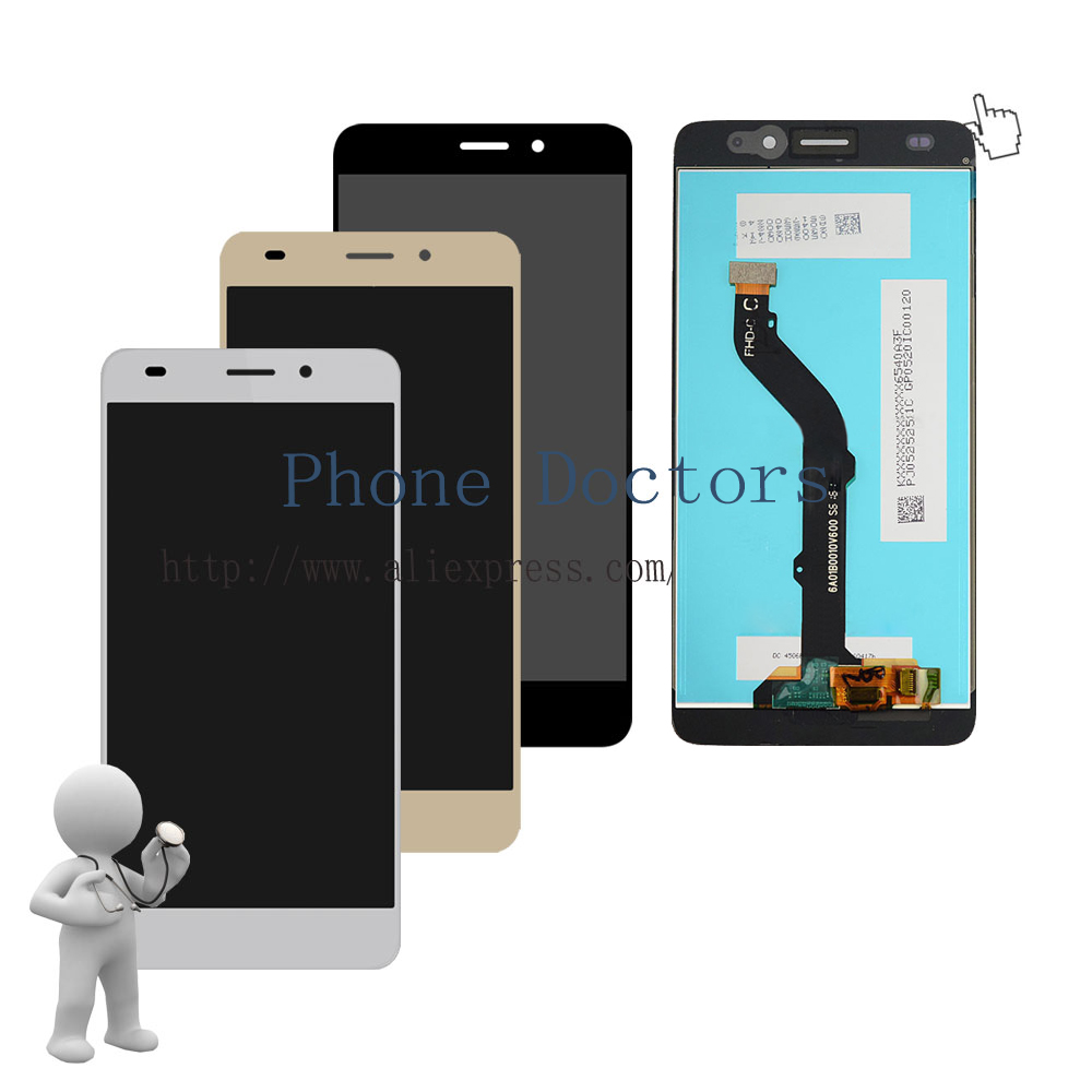 5.2'' Full LCD DIsplay + Touch Screen Digitizer Assembly For Huawei GR5 Mini NMO-L22 NMO-L31 ;Black/White/Gold ;New ;100% Tested