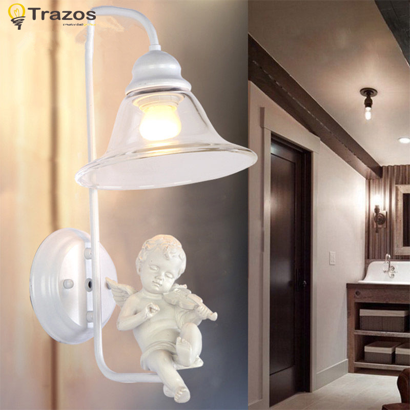 Фотография Modern Originality Wall Lamps with the angel for living room light modern lamps lustre lighting led