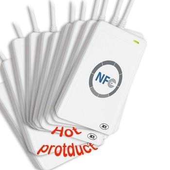 Batch Price NFC ACR122U RFID smart card USB Port Smart Card Reader & Writer with free SDK