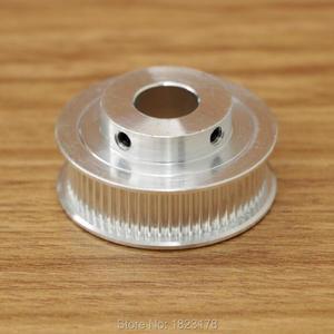 Высокое качество 1 шт. GT2 60 зубчатый шкив 2GT 60 зубчатый диаметр 5 мм 6,35 мм 8 мм 10 мм 12 мм подходящая Ширина ремня 6 мм 2GT 60 зуб